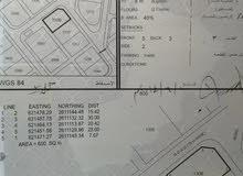فرصة للبيع أرض سكنية في الخوض السابعة كورنر بموقع ممتاز
