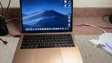 MacBook air 2019 GOLD مع بصمه
