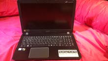 laptop Acer aspire f 15 core i7 من الخارج