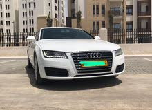 Audi A7 car is available for sale, the car is in Used condition