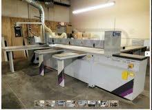 مكينة قص خشب (حصر ) للبيع