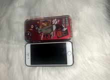 ايفون7 مستخدم نظيف جداً 128 جي بي+كفر وشاحن اصلي
