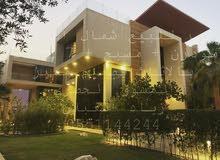 قصر للبيع في الرياض ( في شمال الرياض + مودرن مؤثث + 4 ادوار ) بالاثاث