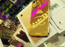 متوفر ايفونات 7 مطليه بالذهب مع كتابة حرف او اسم
