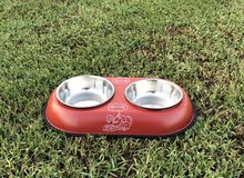 cat and dog feeder plate brand new