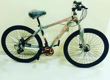 "New super cycle aluminum orange color size 29"""