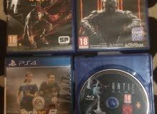 للبيع او بدل العاب PS4