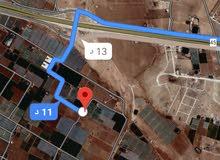 للبيع ارض 11 دونم في الطنيب شارع الميه