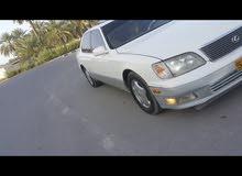 White Lexus LS 400 1998 for sale
