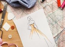 دورات تصميم الأزياء من مرحلة الرسم حتى التسويق
