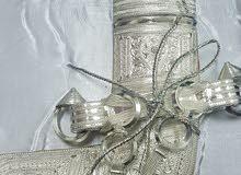 خنجر سعيدي بفضة عمانية وصياغة يدوية متقنة جدآ