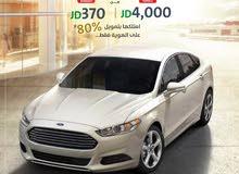 فورد فيوجن SE هايبرد, موديل 2017... امتلكها الآن بدفعة ابتداءً من 4,000* دينار أردني