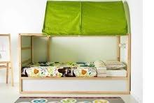 سرير دورين من إيكيا بالمراتب والخيمة ومكتب بالكرسى