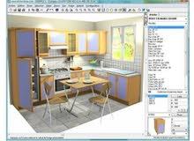تعليم اوتوكاد وتعليم برنامج تصميم المطابخ kitchendraw.