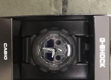 ساعة  G - SHOCK لون أسود مع الكرتون