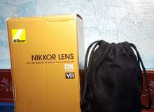 عدسة نيكون VR 55_300 نظافة 99%