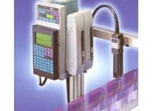ماكينة طباعة تاريخ الانتاج والنتهاء ورقم التشغيلة