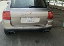 Gold Porsche Cayenne Turbo 2004 for sale