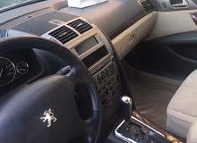 سيارة بيجو موديل 2007 للبيع بحاله ممتازة بيمة سنه كامله
