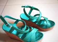 Brazilian leather and cork sandals