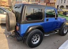 For sale 2003 Blue Wrangler