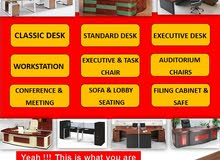 The Leader of Office Furniture and Equipment Supplier in UAE