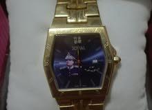 ساعة ماركة عالمية Jovial صناعة سويسرية عليها صورة معمر القذافي