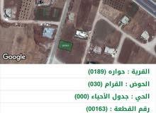 ارض قريبة من شارع بترا مسامحة 792 للبيع(سعر متر158دينار)