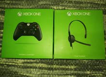 Xbox accesories controller, headset اكسسوارات اكسبوكس سماعات يدات