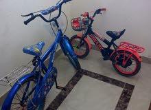 دراجه هوائيه عدد 2شبه جديد