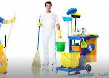 متوفر لدينا فحوصات طيبة ل عمال نظافة