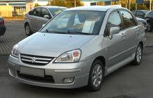 مطلوب سيارة سوزوكي ليانا للبيع