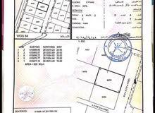 ارض للبيع قريب جامع عزان بن قيس في المعبيلة