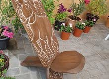 Antique Indian Solid Wood Chair