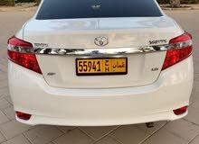 Beige Toyota Yaris 2015 for sale