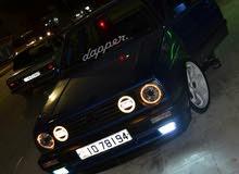 Manual Blue Volkswagen 1991 for sale