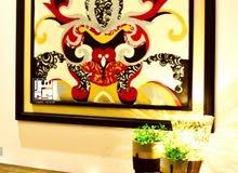 لوحات فنيه يدويه مميزه جدا وتسليم فوري