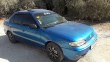 Blue Hyundai Accent 1995 for sale