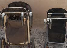 للبيع زوز عربات اطفال مستعملات استراد من امريكيا