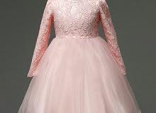فستان مع كم