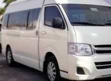 Best rental price for Toyota Hiace 2012