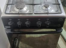 Zanussi 4 burner cooking range with oven and grill in perfect condition