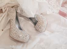 فستان زفاف استخدام مرة واحدة