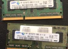 رام لابتوب  DDR3 بحالة ممتازه عالفحص
