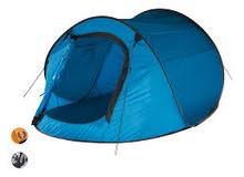 خيمة رحلات لشخصين آلية الفتح من شركة كرفت الألمانية قماشها عازل للماء