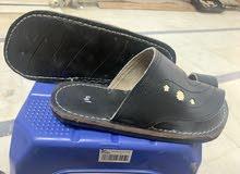 احذية جلد طبيعي من تحت كفر