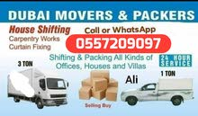 call for moving Shifting items 0557209097