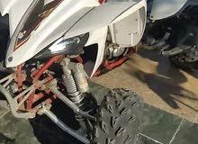 للبيع.    دراجه نظيفه ، مسرفسه وجاهز للموسم  رابتر 450 Yfz.  موديل 2009.  هيدرز سبارك ، فلتر  .