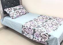 عدد 2 سرير عموله جديد استخدام شهور للبيع