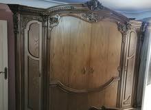 غرفة نوم خشب ارو مستعملة استعمال خفيف